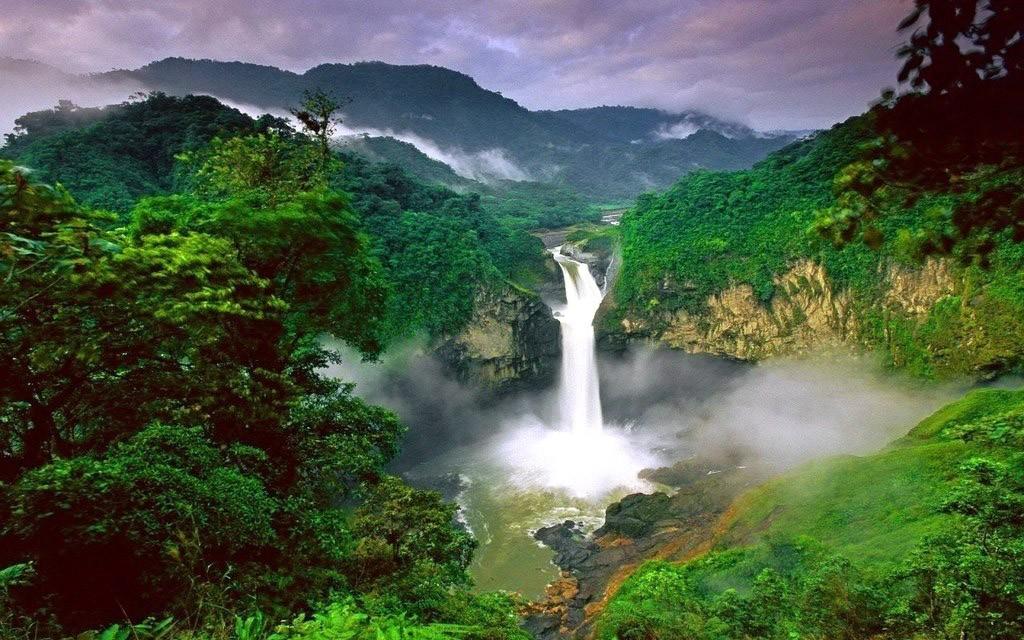 Eltűnt Ecuador legnagyobb vízesése : a San Rafael - vízesés már csak történelem