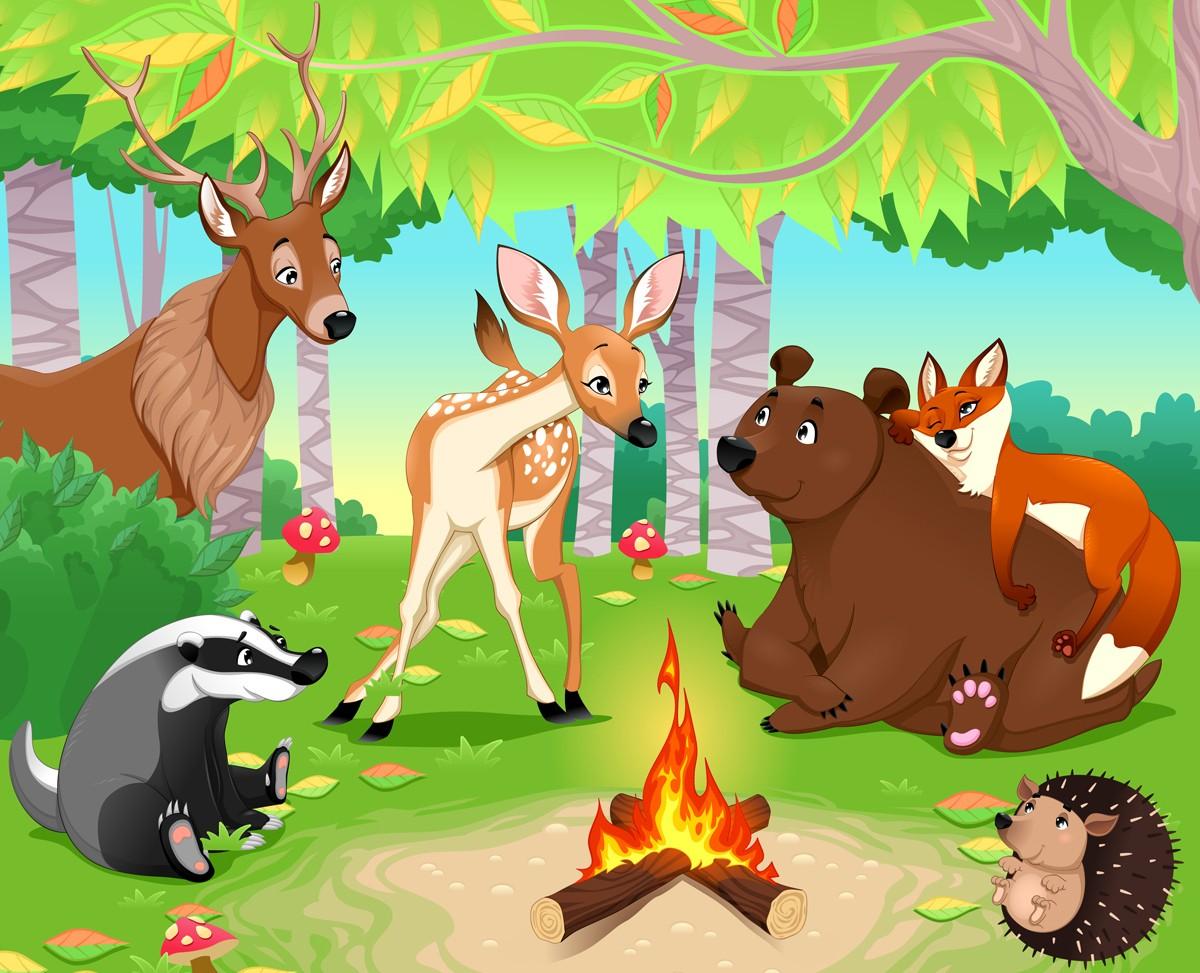 Békés erdő és az elveszett béke
