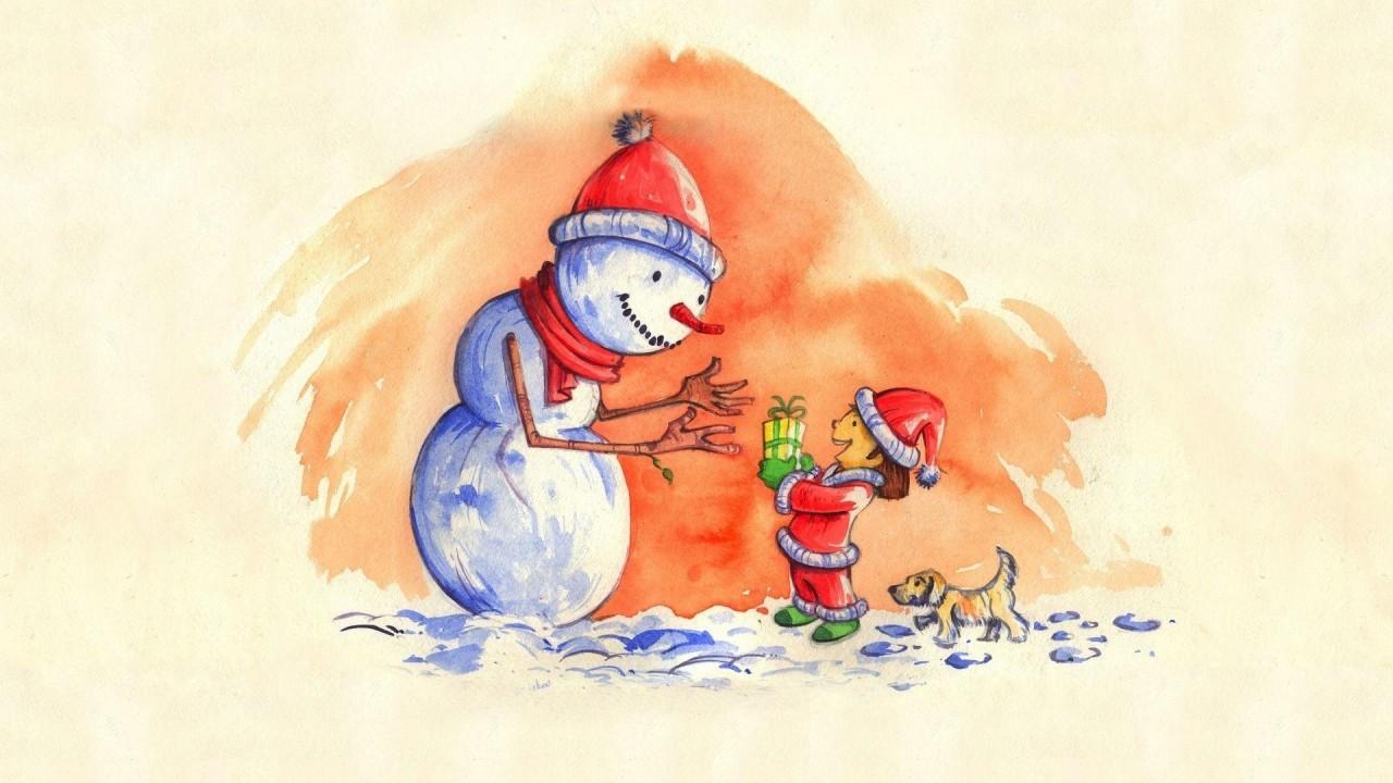 Hóemberke karácsonya