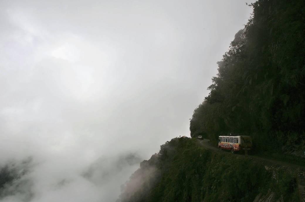 Az Észak- Yungas út, avagy a Halál útja