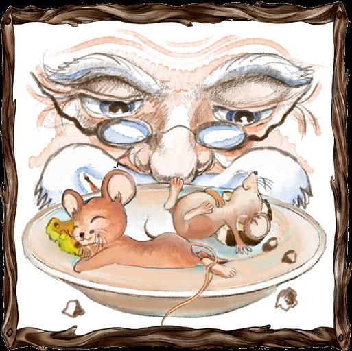 Rosszcsontkáék és az öreg