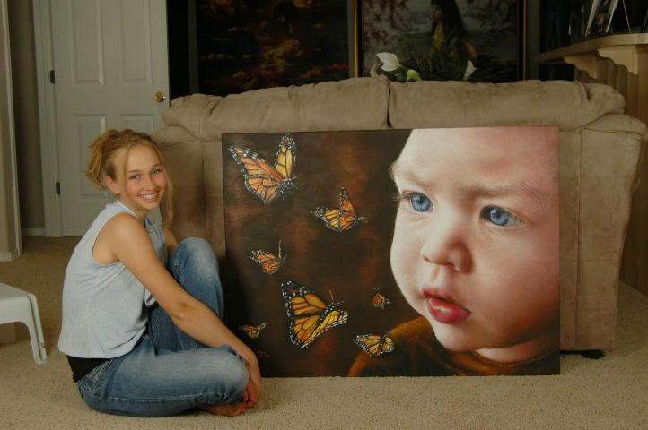 Akiane Kramarik: a kislány aki már 8 évesen művészien megfestette Jézus portréját